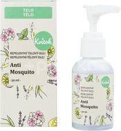 Kvitok Repelentní tělový olej Anti Mosquito 50ml