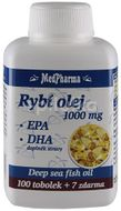 MedPharma Rybí olej 1000mg+EPA+DHA 107 tobolek