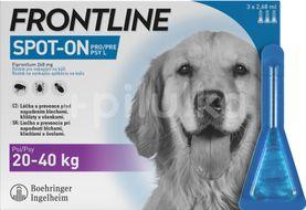 Frontline Spot On Dog L 20-40kg, Pipeta 3x2,68ml