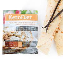 KetoDiet Proteinová palačinka s vanilkovou příchutí 7porcí