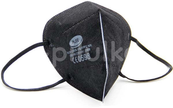 HJR Černý respirátor FFP2, 50ks