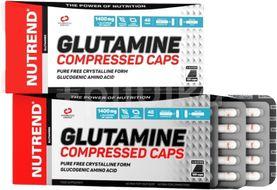 Nutrend Glutamine Compressed Caps 120 kapsulí