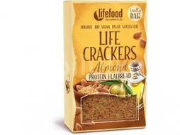 Lifefood LIFE CRACKERS BIO RAW Chlebánek 80g