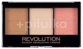 Revolution Ultra Sculpt & Contour Kit Ultra Fair C01 paletka na tvář 11g