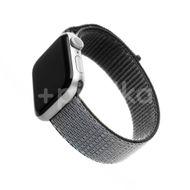 FIXED Nylonový řemínek Nylon Strap pro Apple Watch 44mm/ Watch 42mm, šedý 1ks