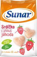 Sunar Jahodová srdíčka 50g