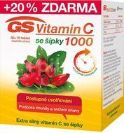 GS Vitamín C 1000 se šípky 50+10 tablet
