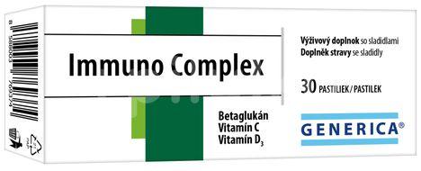 Generica Immuno Complex 30 pastilek