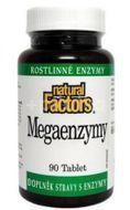 Natural Factors Mega Enzymy 90 tablet