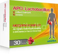 APO-Lactobacillus 10+, 30 kapslí