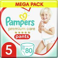 Pampers Premium Pants Plenkové Kalhotky Velikost 5, 80 Kalhotek, 12kg-17kg