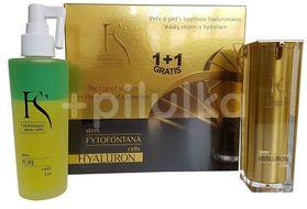 Fytofontana FS Hyaluron gift sets emulze 30ml + dvoufázový odličovač očí 125ml