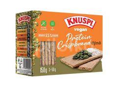 Knuspi Vegan Protein Crispbread dýně 150g