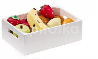 Ovoce v bedýnce dřevěné Bistro