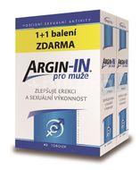 Argin-IN pro muže tobolky 90 + Argin-IN tobolky 90 zdarma