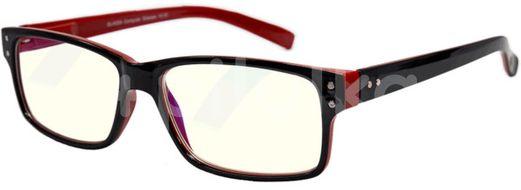 Glassa Brýle na počítač PCG05 černá/červená