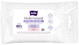 Bella intimní vlhčené ubrousky Hydronatural 20ks