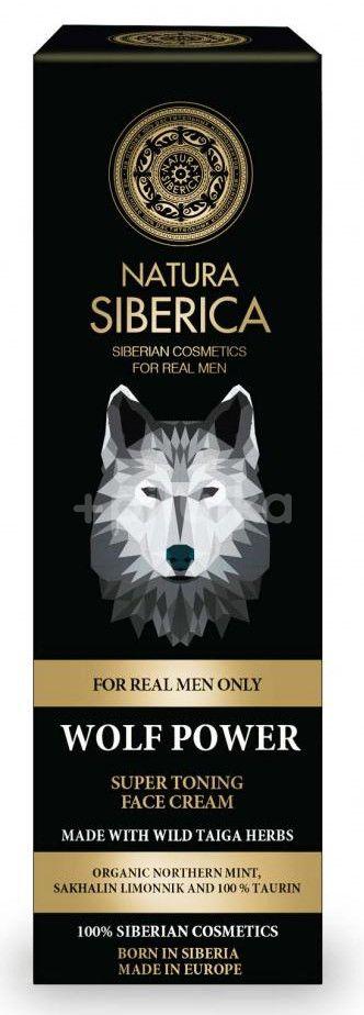 Natura Siberica Super tonizující krém na obličej Síla vlka 50ml
