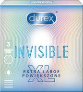 Durex Invisible XL Kondomy 3ks