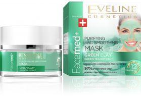 Eveline Facemed čistící pleťová maska se zeleným jílem 50ml