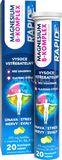 Glenmark Magnesium B-Komplex Rapid šumivé tablety 20ks