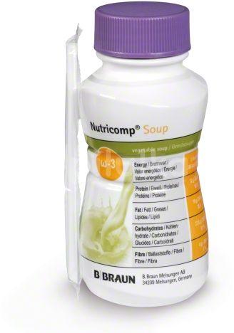 B.Braun Nutricomp Soup jemné kuřecí kari perorální roztok 4x200ml