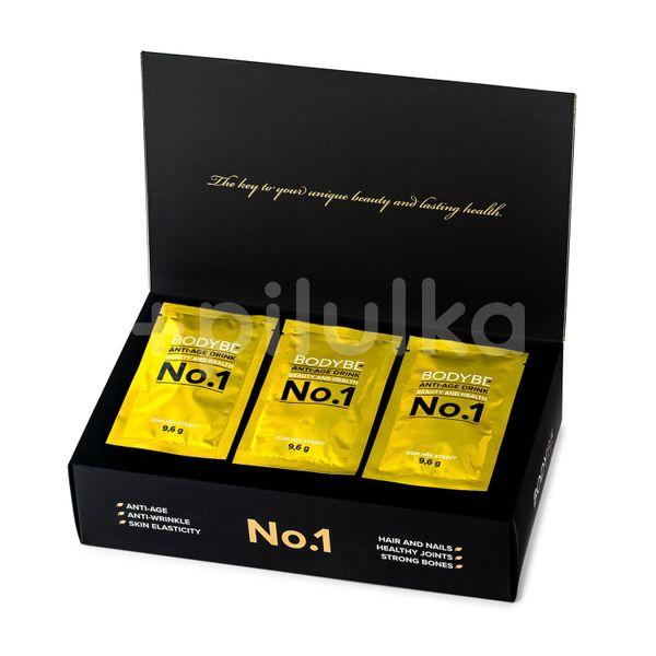 Bodybe Anti-age Drink No. 1 Prémiový kolagenový nápoj pro omlazení pleti na bázi aminokyselin 30ks