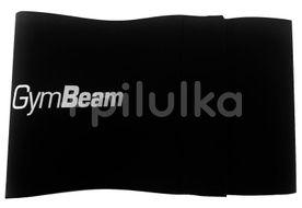GymBeam Bedrový neoprénový pás Simple black – délka 80 cm