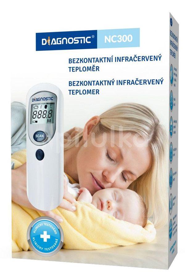 Diagnostic Teploměr infračervený bezdotykový NC300 1ks