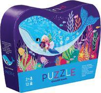 Crocodile Creek Mini puzzle, Velryba 12ks