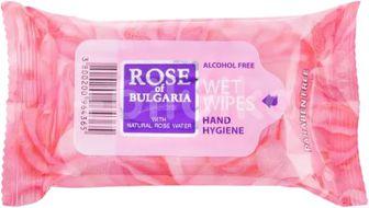 Biofresh Vlhčené antibakteriální ubrousky s přírodní růžovou vodou 15ks