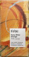 Vivani Bio hořká čokoláda 70% pomerančová 100g