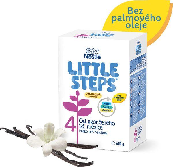 Nestlé Little Steps 4, Vanilková příchuť 600g
