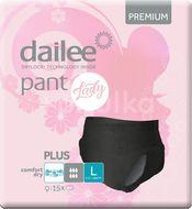 Dailee PANT LADY Premium Plus L Black 15ks