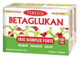 Terezia Betaglukan Trio Komplex Forte 500mg 30 kapslí
