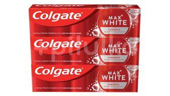 Colgate Zubní pasta Max white Luminous 3x75ml
