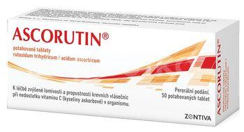 Ascorutin 50 potažených tablet