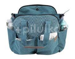 Kinder Hop Přebalovací taška na kočárek 2v1 Traveler Bag Ocean Turquoise 1ks