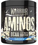 Warrior Aminos BCAA Powder blue raspberry 360g