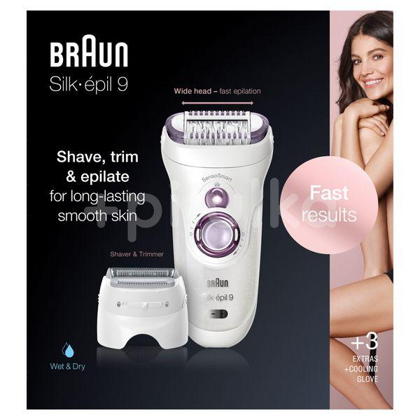Braun Silk-épil 9 9-710 Purple