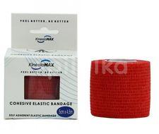 KinesioMAX Cohesive elast.samofix.5cmx4.5m červené