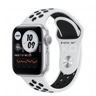 Apple Watch Nike S6 GPS, 40mm Silver Aluminium Case, Pure Platinum/Black Nike Sport Band, Regular 1ks