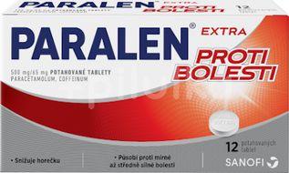Paralen Extra proti bolesti 500/65mg 12 tablet