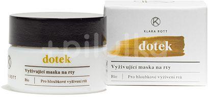 Klara Rott Vyživující maska na rty Dotek BIO 15g