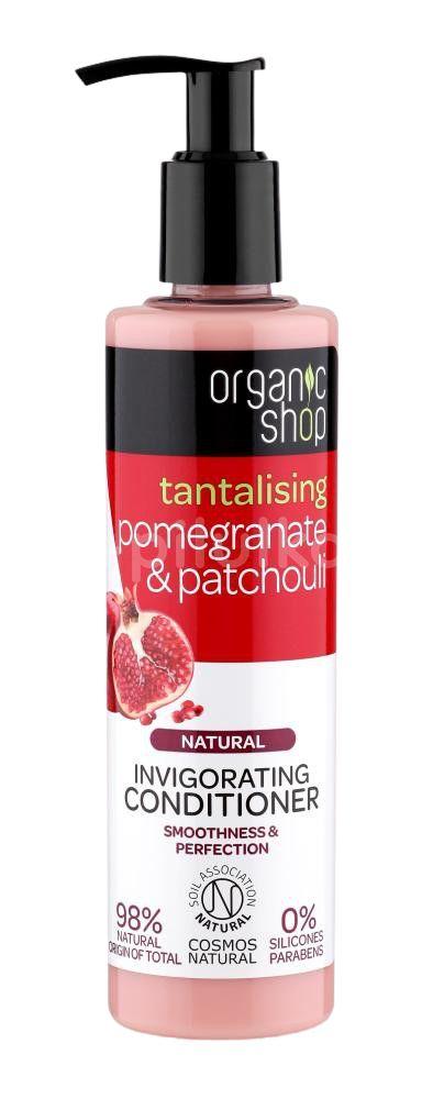 Organic Shop Povzbuzující kondicionér Granátové jablko & Pačuli 280ml
