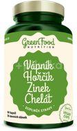 GreenFood Nutrition Vápník Hořčík Zinek Chelát 90kapslí