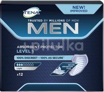 TENA Men Absorbent protector Level 1 Inkontinenční vložky pro muže 12ks