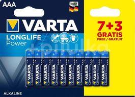 Varta LR03/7+3 Longlife high energy POWER