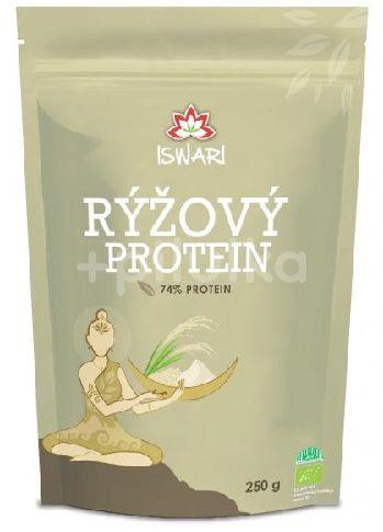Iswari BIO Rýžový protein 80% 250g