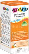 PEDIAKID 22 Vitamínů 125ml